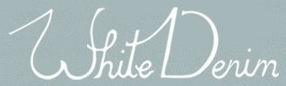 logo White Denim