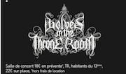Concours Wolves Throne Room @ Petit Bain