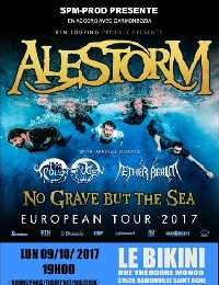 Live Report : Alestorm / Aether Realm / Troldhaugen