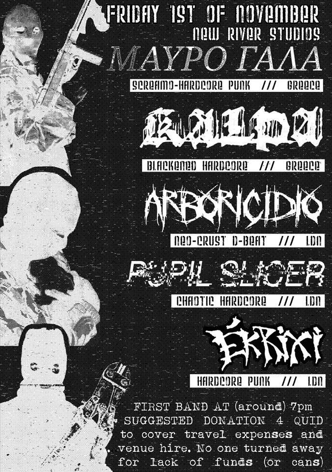Live Report : Arboricidio, Pupil Slicer