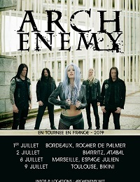 Live Report : Arch Enemy / AcoD le 09/07/2019