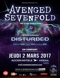 Live Report : Avenged Sevenfold + Disturbed