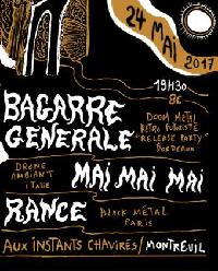 Live Report : Bagarre Générale, Mai Mai Mai, Rance le 24 mai