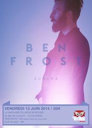 Live Report : Ben Frost / DSCRD