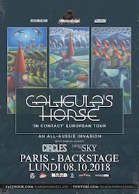 Live Report : Caligula's Horse + Circles + I Built The Sky