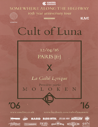 Live Report : Cult Of Luna, Moloken