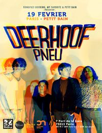 Live Report : Deerhoof, Pneu