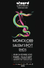 Live Report : Enos, Salem's Pot, Monolord