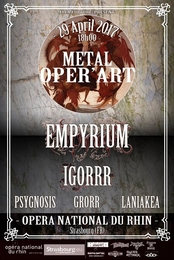 Live Report : Festival Metal Oper'art