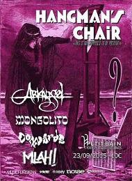 Live Report : Hangman's Chair, Mongolito, Arkangel, Cowards et Mlah