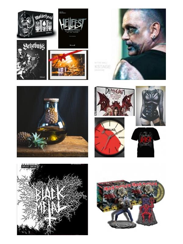 Dossier : Idées cadeaux pour fan de metal (2019)