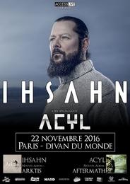 Live Report : Ihsahn + Acyl