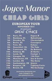 Live Report : Joyce Manor - Cheap Girls