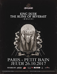 Live Report : King Dude, The Ruins Of Beverast, Dolch