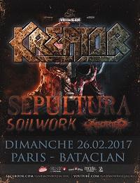 Live Report : Kreator + Sepultura + Soilwork + Aborted