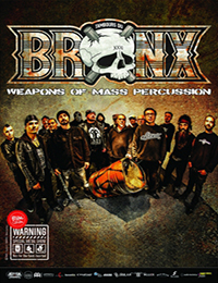 Live Report : Les Tambours Du Bronx, Flayed
