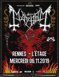 Live Report : Mayhem, Gaahls Wyrd, Gost