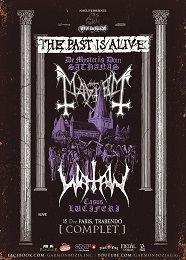 Live Report : Mayhem et Watain le 15 décembre 2016