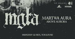 Live Report : Mgla, Martwa Aura, Above Aurora
