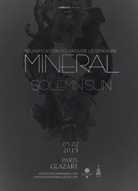 Live Report : Mineral, Solemn Sun
