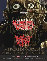 Live Report : Municipal Waste + Insanity Alert