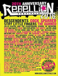 Live Report : Rebellion Festival - Jour 1
