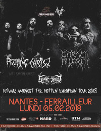 Live Report : Rotting Christ, Carach Angren, Svart Crown