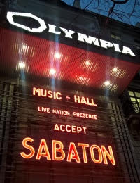 Live Report : Sabaton, Accept et Twilight Force