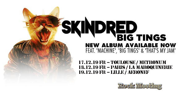 Live Report : Skindred - Blood Command