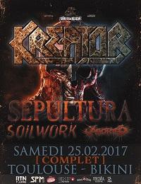 Live Report : Soilwork / Sepultura / Kreator