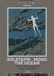 Live Report : Solstafir, Mono et The Ocean le 5 novembre 2015