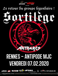 Live Report : Sortilège, Anthares