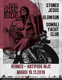 Live Report : Stoned Jesus, Glowsun, Somali Yatch Club
