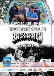 Live Report : Turnstile, Backtrack et Danforth le 20 juin 2016