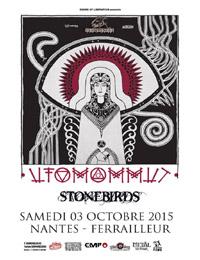 Live Report : Ufomammut, Stonebirds
