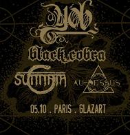 Live Report : Yob, Black Cobra, Sunnata et Au Dessus le 5 octobre