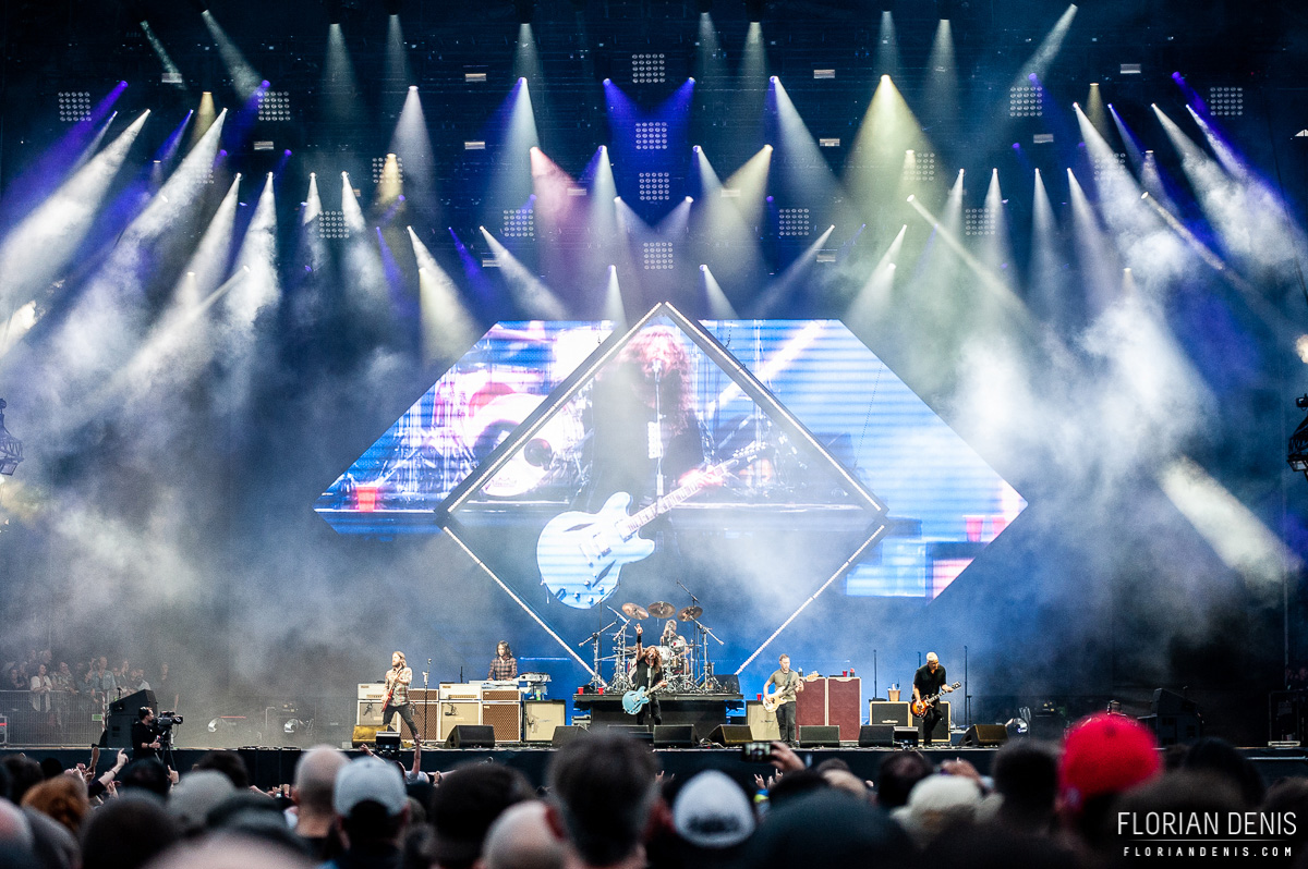 Foo Fighters (Download Festival France 2018 - Dimanche)
