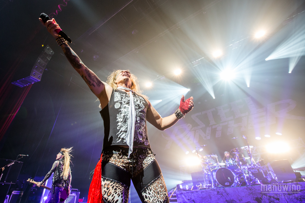 Steel Panther (STEEL PANTHER (+BLACK VEIL BRIDES + LIKE A STORM) - Paris Olympia - 16 Mars 2015)