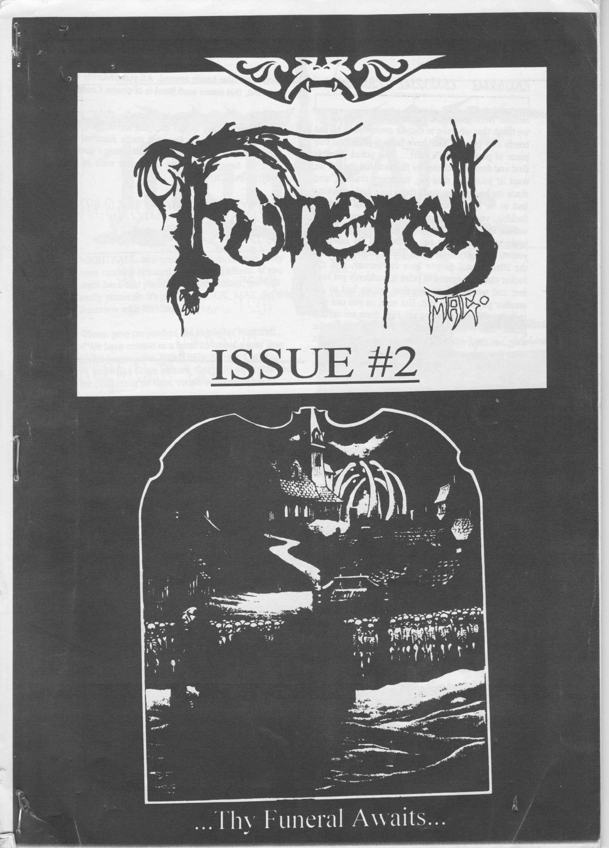 Couv' du fanzine Funeral #2